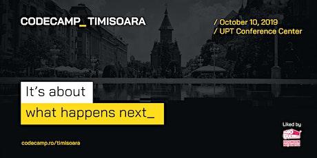 Codecamp Timisoara, 10 October 2020 tickets