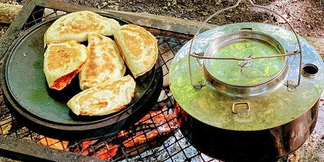 Evening course - campfire cookery bannock and calzone tickets