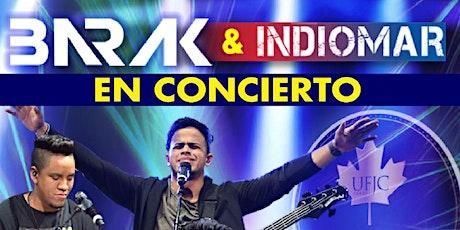 Barak & Indiomar  /Managua Nic entradas