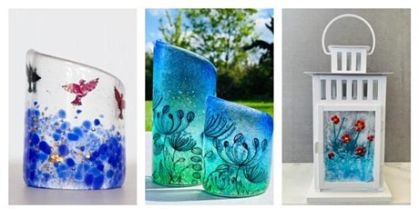 Fused glass workshop Sat 3rd  October 11-1pm complimentary glass of prosecco Twice Fired tickets
