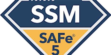 Online SAFe® Scrum Master Certification(SSM), Anchorage, Alaska   tickets