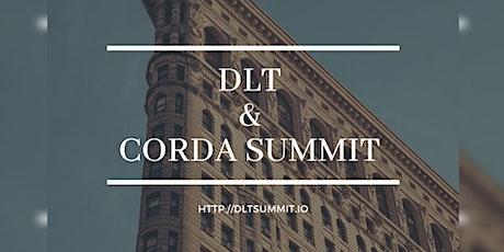 The DLT & Corda Summit NYC tickets