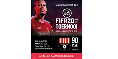 FIFA20 tournooi JO12/JO13 - 15-05-2020 tickets