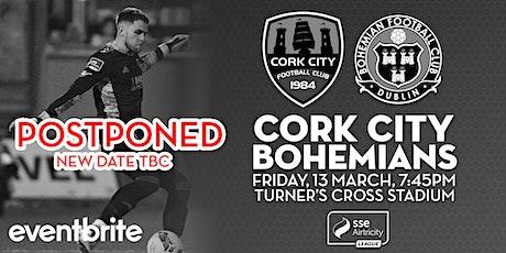 Cork City v Bohemians tickets
