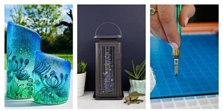Fused glass workshop 25th April 3-5pm complimentary glass of prosecco  tickets