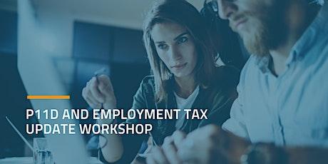P11D and Employment Tax Update Workshop - Cheltenham tickets