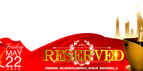 RESERVED 2020 tickets