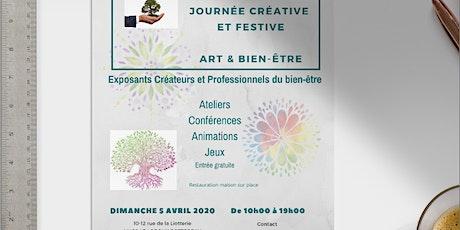 Journée Créative & Festive autour de l'Art et du Bien-Être billets