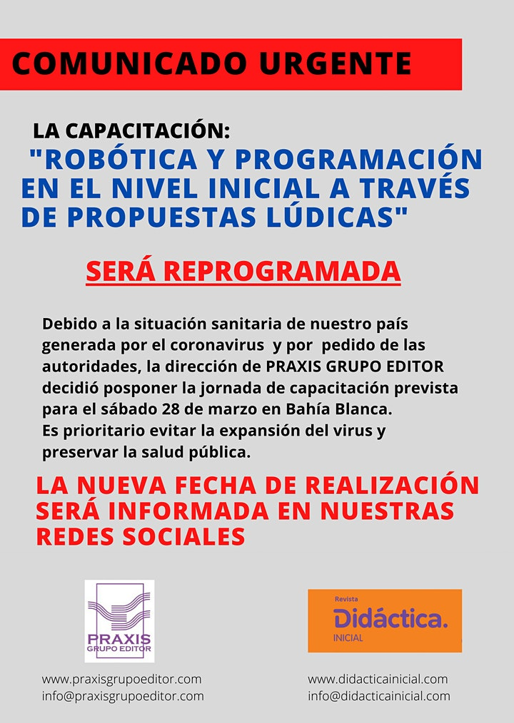 Imagen de ROBÓTICA Y PROGRAMACIÓN EN BAHÍA BLANCA