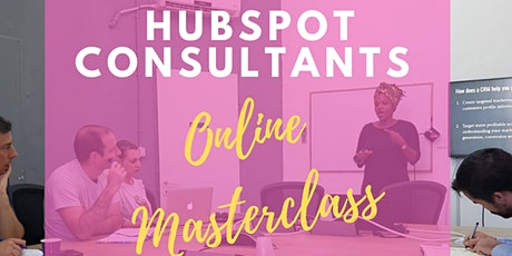 Become a HubSpot Consultant tickets