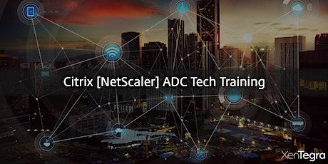 Online: Citrix [NetScaler] ADC Tech Training (07/16/2020) tickets