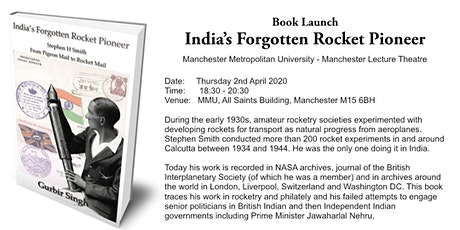 Book Launch - India's Forgotten Rocket Pioneer (Date subject to confirmation) tickets