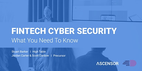 Fintech Cyber Security: What You Need to Know tickets