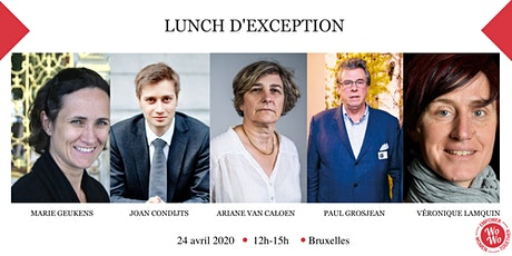 Lunch d'exception tickets