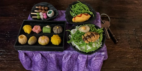8 x Miniature Food Clay Crafted BentoBox Workshop Adelaide- Every Sat 1-2pm tickets
