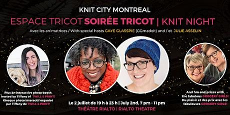 Soirée tricot avec Espace Tricot – Espace Tricot Knit Night billets