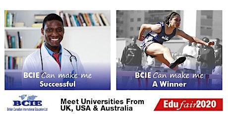 BCIE EDUFair April 2020 Nigeria - Lagos tickets