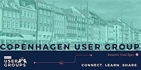 Copenhagen Alteryx User Group Meeting tickets