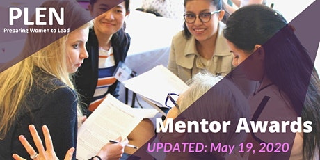 UPDATED: 2020 PLEN Mentor Awards tickets