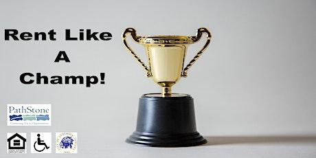 Rental Education Workshop: Rent Like a Champ! tickets