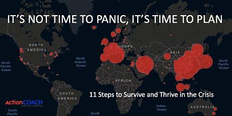 Plan Don't Panic! 11 Steps for Businesses to Survive and Thrive in Crisis tickets