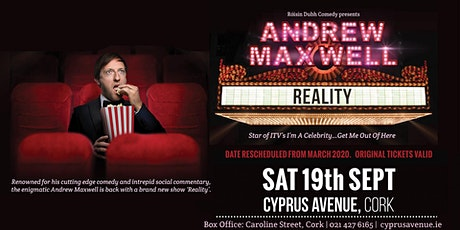 Andrew Maxwell - Reality tickets