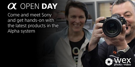 Sony Alpha | VIP Day Edinburgh tickets