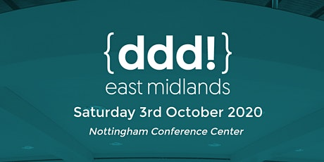DDD East Midlands 2020 tickets