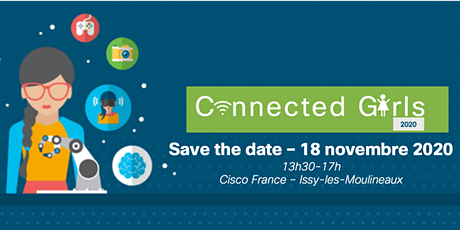 Cisco Connected Girls 2020 billets