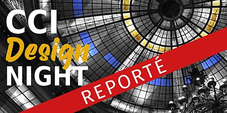 CCI DESIGN NIGHT 2020 billets