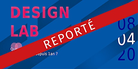 Les 1 an du DESIGN LAB tickets