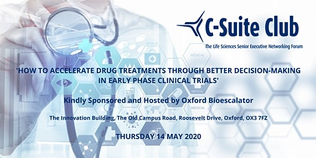 OBN Senior Executive Breakfast: 'How to Accelerate Drug Treatments Through Better Decision-Making in Early Phase Clinical Trials' tickets