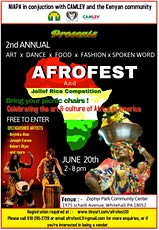 AFROFEST 2021 tickets