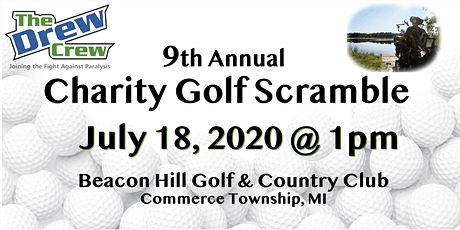 9th Annual Charity Golf Scramble presented by The Drew Crew tickets