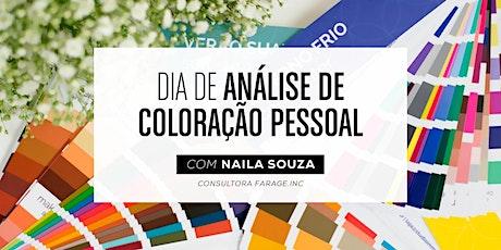 Dia de Análise de Cor em Salvador bilhetes