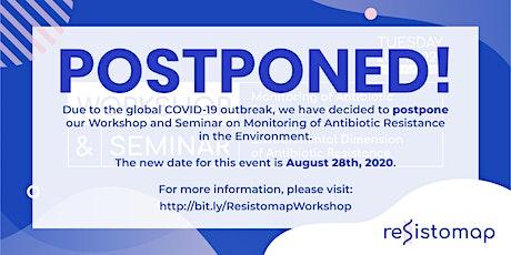 Seminar: Environmental Dimension of Antibiotic Resistance tickets