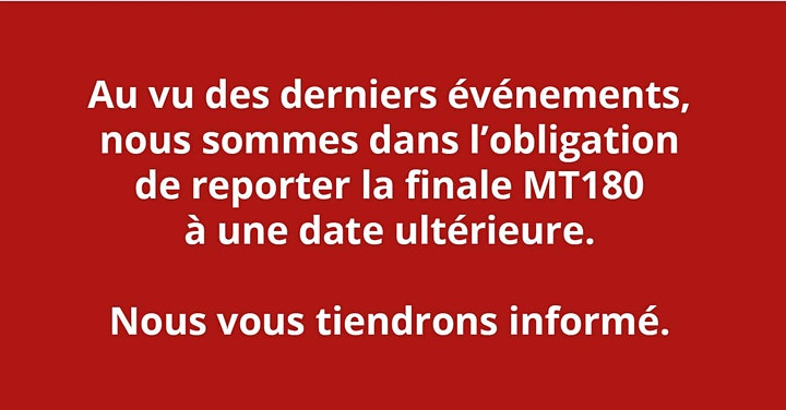 Image pour ANNULE : Ma thèse en 180 secondes - Finale régionale 2020 - Hauts-de-France
