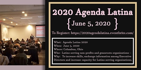 Agenda Latina 2020: Building Resilience  tickets