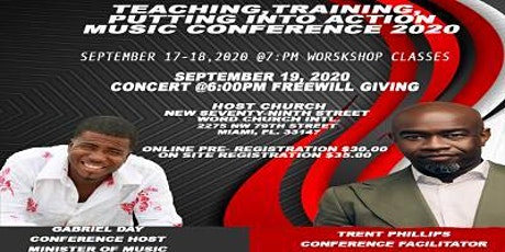 Teaching Training & Putting Into Action Music Conference 2020 tickets