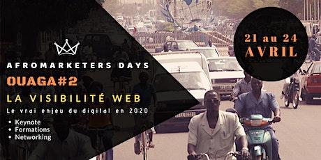 AfroMarketers Days Ouaga #2 billets