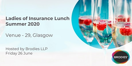 Ladies of Insurance Lunch Summer 2020 tickets