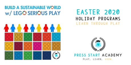 Build a Sustainable World w/ Lego: Press Start Academy Easter 2020 tickets