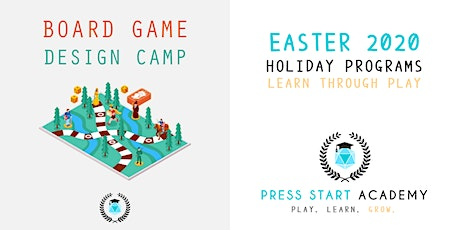 Board Game Design Camp: Press Start Academy Easter 2020 tickets