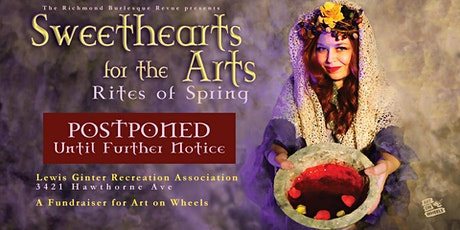 **POSTPONED** Sweethearts for the Arts: Rites of Spring tickets
