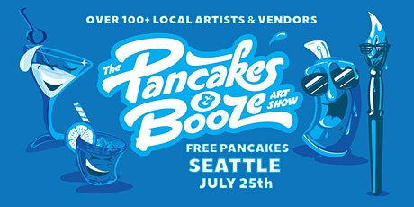 Pancakes & Booze Art Show tickets