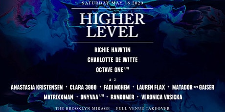 Higher Level: Richie Hawtin, Charlotte de Witte & more