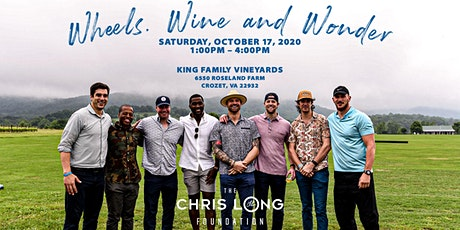 Wheels, Wine and Wonder tickets