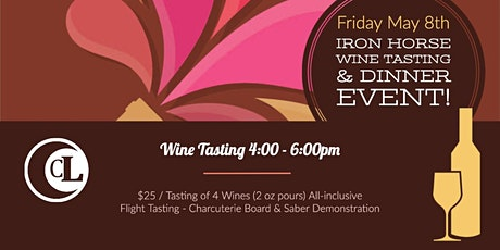 Exclusive Iron Horse Tasting tickets