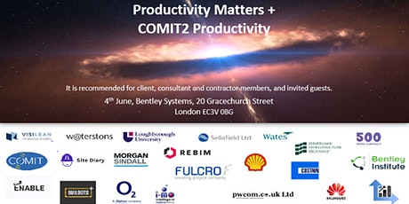 COMIT Community Event - Productivity tickets