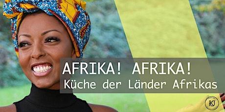 AFRIKA! AFRIKA! - Küche der Länder Afrikas mit Magda Tedla Tickets